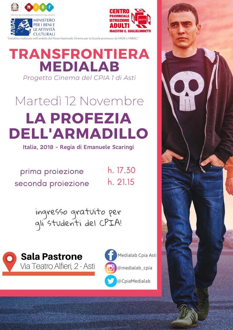 Medialab – Proiezione 12 novembre