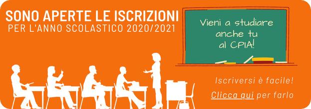 Iscrizioni 2020-21