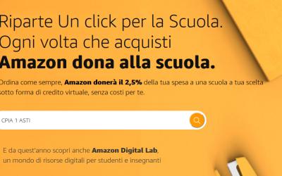 """Riparte """"Un Click per la Scuola"""""""