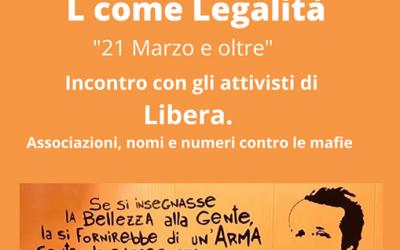 Alfabeti di Cittadinanza – L come Legalità – 22 marzo 2021