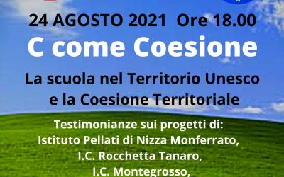 Alfabeti di Cittadinanza – C come Coesione – 24 agosto 2021